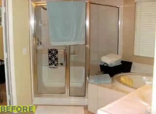 现代简约风格餐厅白领公寓时尚家居装饰卫生间淋浴房定制