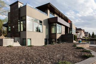 新古典风格200平米别墅艺术家庭庭院装修效果图