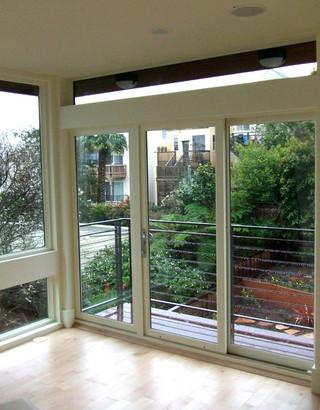 小公寓实用客厅厨房在阳台的装修