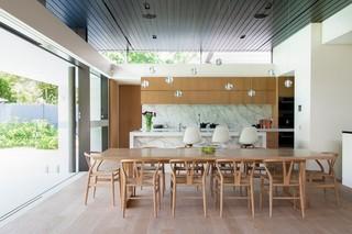 小户型简欧风格loft公寓舒适家庭餐桌图片