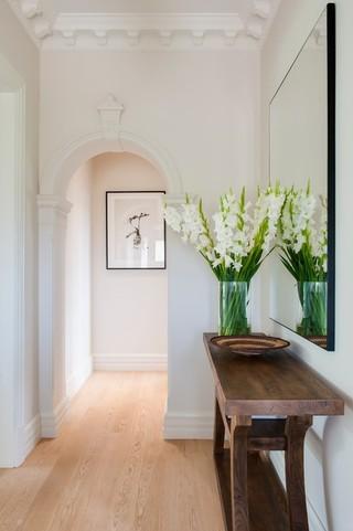 简欧风格卫生间小型公寓舒适家装走廊吊顶装修效果图