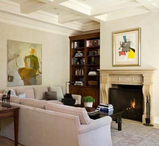 一层别墅豪华型名牌布艺沙发效果图