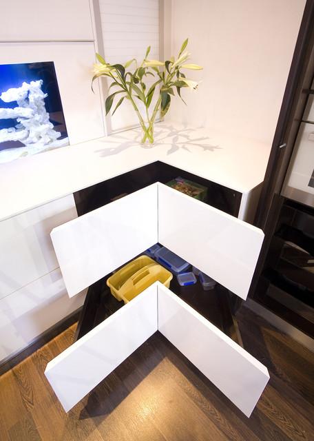 现代简约风格餐厅酒店式公寓舒适装修效果图