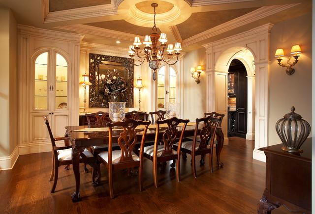 小户型公寓欧式奢华家用餐桌图片