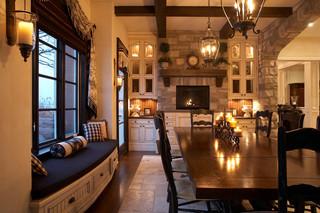小型公寓奢华雷士吸顶灯效果图