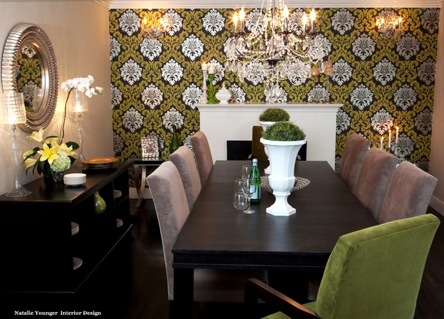 新古典风格卧室酒店式公寓舒适家用餐桌图片