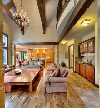 三层双拼别墅梦幻家具16平米客厅设计
