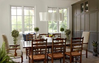 新古典风格单身公寓设计图艺术红木家具餐桌图片