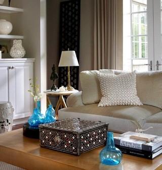 新古典风格客厅复式公寓艺术宜家沙发床图片