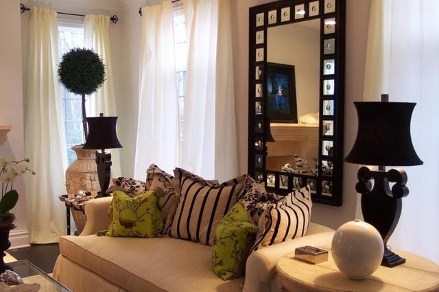新古典风格小型公寓艺术效果图