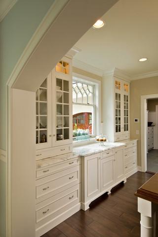 美式乡村风格客厅2014年别墅大气白色室内装修效果图