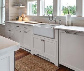 简约风格卧室白色欧式家具小户型开放式厨房一体式台盆图片