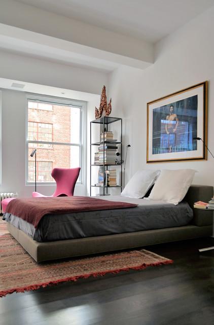 现代简约风格餐厅小户型公寓时尚家居装饰6平米卧室装潢图片
