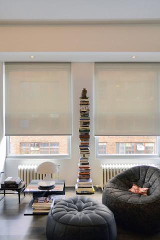现代简约风格餐厅小户型公寓时尚客厅名牌布艺沙发图片