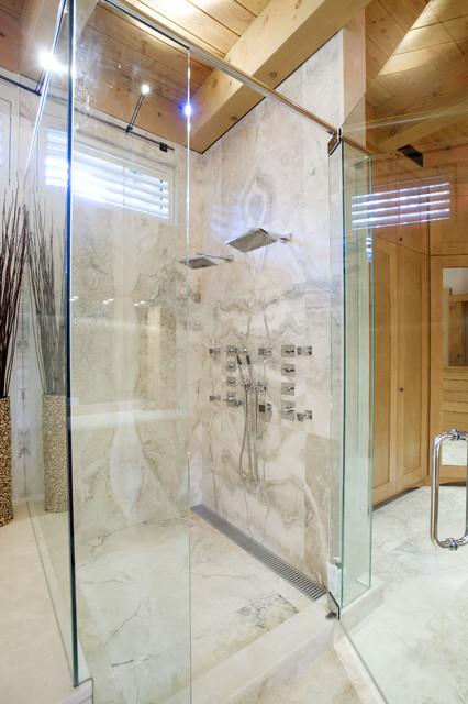 酒店式公寓低调奢华卫生间淋浴房设计图