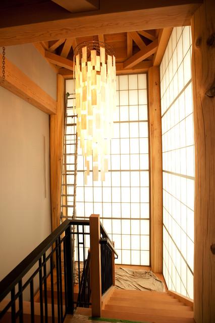 复式公寓欧式奢华暖色调效果图