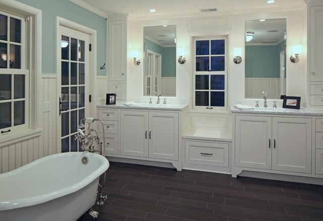 一层半别墅低调奢华白色室内效果图