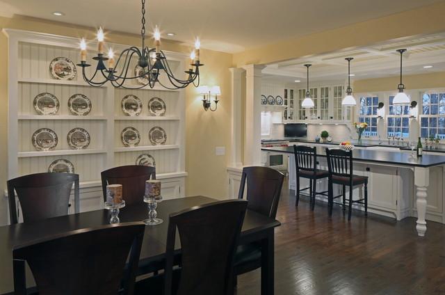 三层连体别墅欧式奢华家用餐桌图片