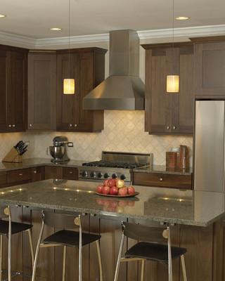 古典中式冷色调2012厨房开放式厨房吧台装修效果图