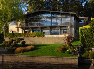 2层别墅奢华家具私家庭院设计