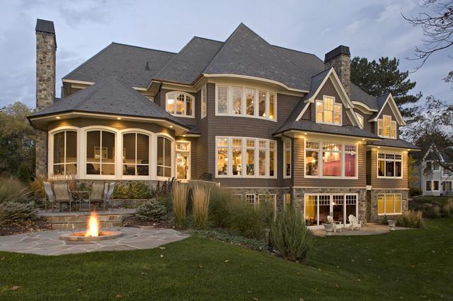 北欧风格的乡村别墅