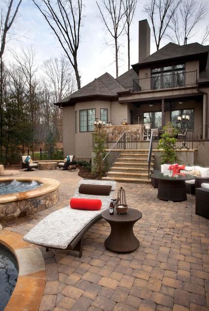 别墅花园设计实景图 庭院_合肥庭院设计公司_家庭庭院门楼设计