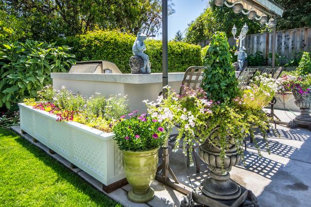 欧式别墅花园及庭院装修欣赏