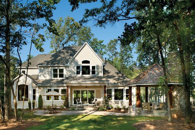 森林中的家居 古朴别墅内部