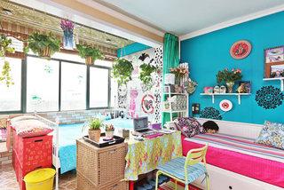 时尚色彩家 DIY达人的三室一厅