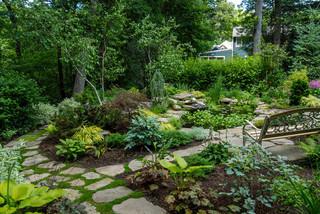 畅游爱情海 私享绿色别墅花园