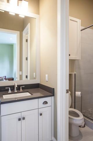现代风格富裕型装修住宅 淋浴房超宽敞至上洗浴感受
