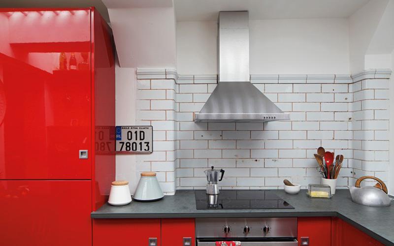 混搭风格艺术厨房旧房改造家居图片