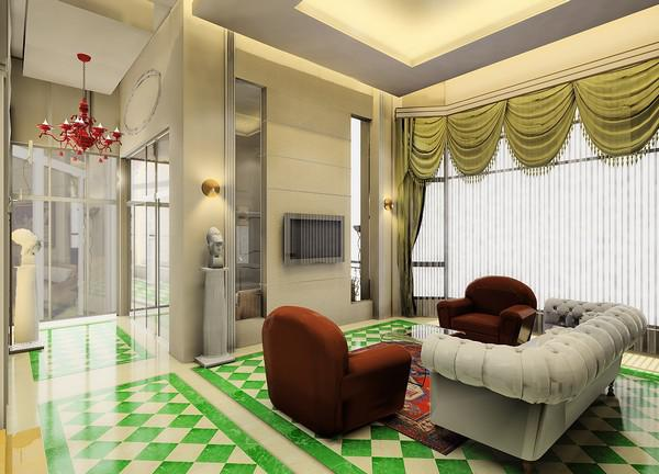 廣州新古典主義風格樣板間公寓