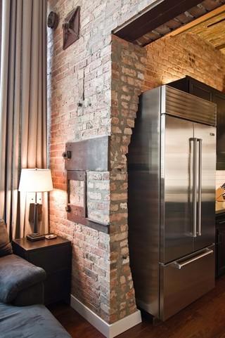 艺术感强烈的复式公寓装修