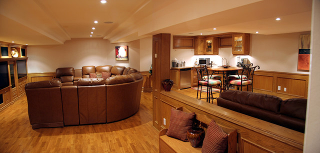 Bayhampton地下室改造住宅