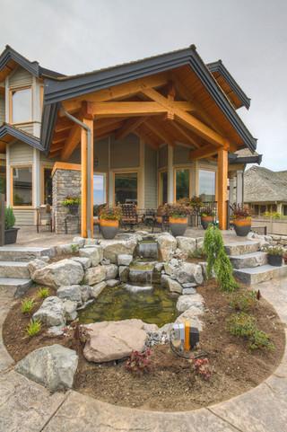 木质别墅装修 尽情拥抱大自然