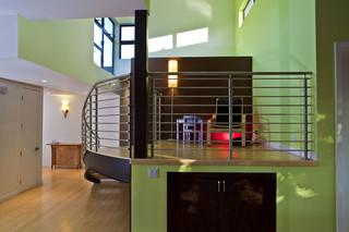现代创意办公空间 配色大胆且新颖
