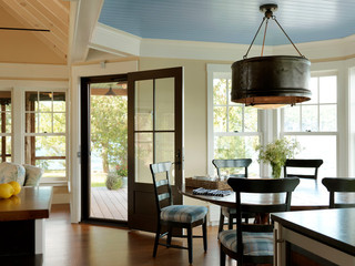 空间气氛朴素、文雅柔和别墅