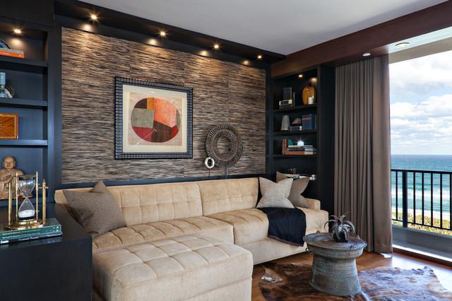 美式风格客厅单身公寓厨房时尚室内装修效果图图片