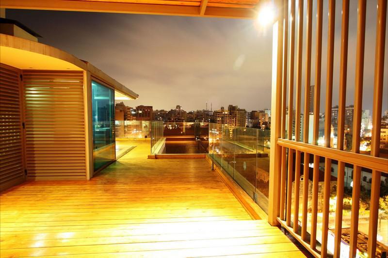 黎巴嫩貝魯特創意屋頂公寓
