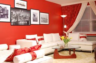 红色经典 婚房装修