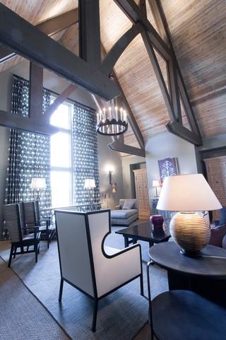 私人家庭住宅 复式装修专属迷你跃层
