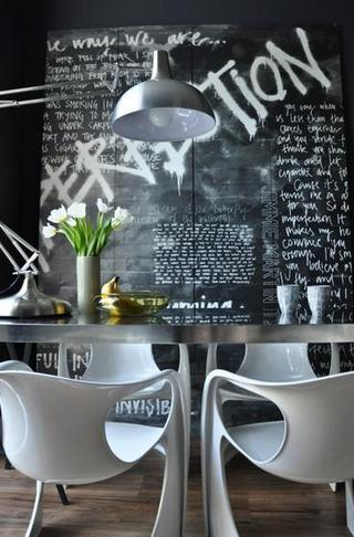 伦敦精彩的波普艺术装饰公寓