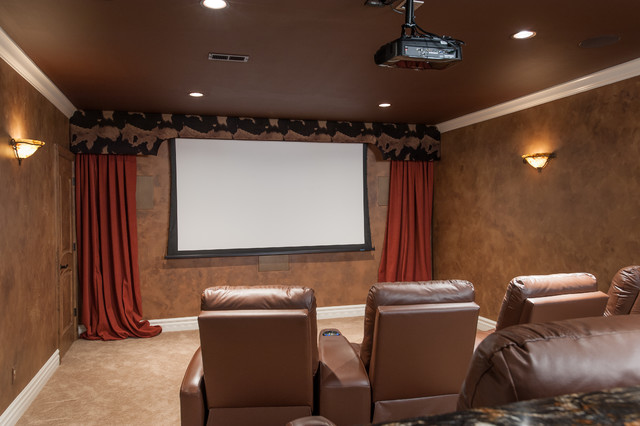 高v背景高质量电影院房装修2/3背景墙挂楞严咒画还是大悲咒图片
