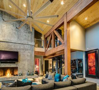 爱达荷州度假别墅 宜家风格尽显舒适实用