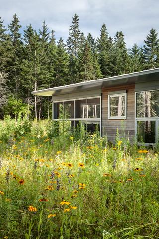 大自然拥抱的乡村别墅装修