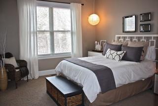 淡雅白色美式风格别墅设计