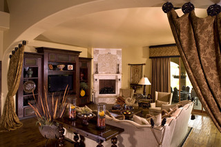 美式风格别墅设计 暖色调设计尽显家的温馨