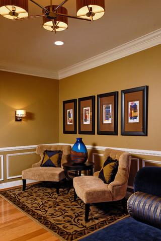 温馨优雅 现代欧式风格家居装修