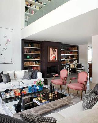 马德里现代双层复式公寓